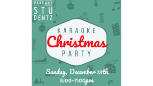 Studentz Christmas Karaoke Party